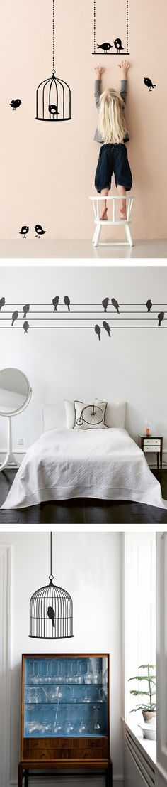 Ferm Living Bird Wall Stickers