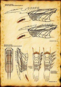 Wrist Blade by Uratz-Studios on DeviantArt