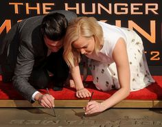 The Hunger Games: Mockingjay Part 2 Ceremony at TCL Chinese Theatre on October 31, 2015
