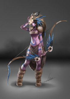 Fantasy character design, Laura Rodríguez on ArtStation at https://artstation.com/artwork/fantasy-character-design