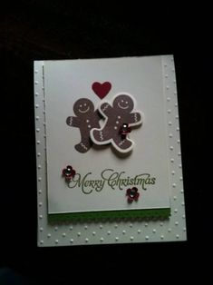 Mr. and Mrs. Gingerbread by Chanron - Cards and Paper Crafts at Splitcoaststampers