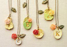 beautiful!!! palomaria victorian garden necklaces on Etsy