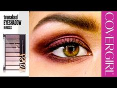 Romantic Eye Makeup Tips with NEW COVERGIRL trunaked Eyeshadow Palette - YouTube