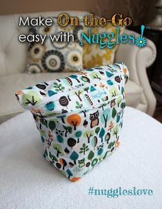Give a Hoot - Don't Pollute - On-the-Go Wet/Dry Bag – Nuggles Designs Canada
