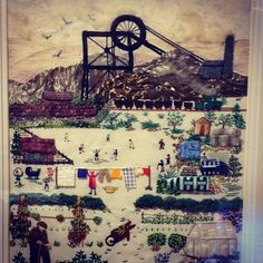 Sneak peek of the 'Mining a Golden Seam' exhibition which is open to visitors from Fri-Sun. Great quality work!   by Beamish Museum