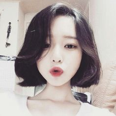 ulzzang hairstyle                                                                                                                                                     More