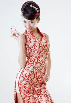 精品旗袍佳丽 - 缘水禅心 -