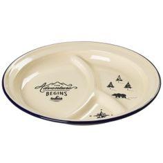 Enamel Divided Plate
