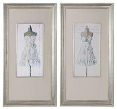 Tres Jolie Linen art #blue