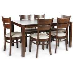 Gorevizon's Beldon Strong Wooden Dining Table Set Online | Enjoy your every single meal with this 6 Seater Wooden Crafted Dining Table Set. Dining Table Set Designs, Wooden Dining Table Set, Wooden Sofa Set Designs, Dining Table Online, Solid Wood Dining Set, Dining Tables, Table And Chairs, Cabinet Furniture, Dining Furniture