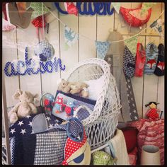 New baby window display June 2013
