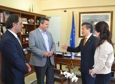 Στην Λευκάδα και στην Βόνιτσα ο προέδρος της Παγκόσμιας Ομοσπονδίας Taekwon-Do..