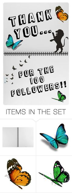 """Thank You! <3"" by my-black-wings ❤ liked on Polyvore featuring art"