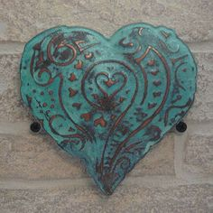 3D Copper Verdi Heart #heart #compassion