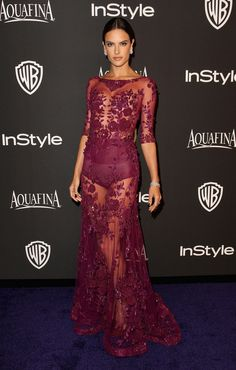 Sexy Stars Flock to InStyle's Globes Bash: The excitement didn't end after the Golden Globe Awards were done, as several famous faces made their way to the InStyle and Warner Bros.