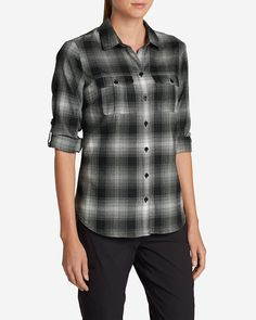 Women's Eddie Bauer Expedition Flannel Shirt | Eddie Bauer