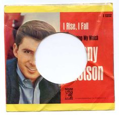 1964 Johnny Tillotson Picture Sleeve NO RECORD 45 RPM MGM K13232 #PopRock