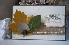#LesAteliersdeCelineScrap #StampinUp #Cards  #Autumn #LeafletsFramelits