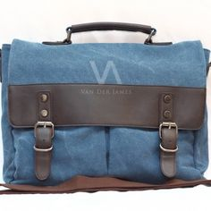 Style: Handbag, shoulder bag, messenger bag Material: High Quality Canvas & PU Leather Dimension: P: 40cm, T: 31cm, L: 10cm Processing Surface: Soft Surface Color: Blue Structure: Zipper pockets, cell phone bags, document bags, laptop pocket Applicable gender: Male & Female. In Stock, Contact us !