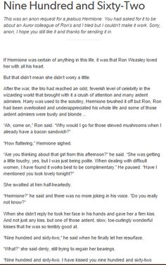 Ron and Hermione - Nine Hundred and Sixty-Two part 1