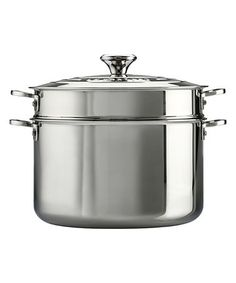 This Stainless Steel 9-Qt. Stockpot & Colander is perfect! #zulilyfinds