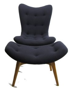 Grant Featherston - R152 chair and ottoman, ca.1955