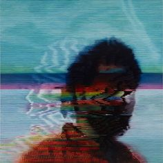 Recreating VHS-style blurry imagery through traditional painting techniques, Kon Trubovich.