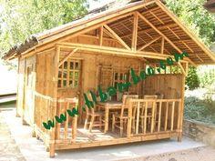bamboo gazebo for Whole house