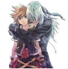 Sora & Riku! Best friends forever!