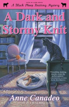 A Dark and Stormy Knit by Anne Canadeo (January 2014)