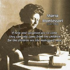 Maria Montessori Quotes | Maria Montessori Quotes Coffee Mugs - kootation.com