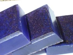 Grape Soap - Natural Exfoliating Poppy Seed Soap - Purple Soap - Homemade Soap - Bar Soap by HoookedSoap, $4.50