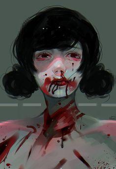 Blood by CHARIKO.deviantart.com on @DeviantArt