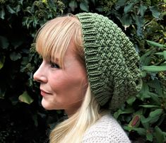 Strikket hue med struktur Knit Crochet, Crochet Hats, Baby Cardigan, Knitted Hats, Casual Outfits, Winter Hats, Knitting, Handmade, Clothes