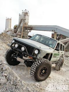 Check out a 1986 Jeep Cherokee that was a race to recreate for The King Of The Hammers. See if this is an obsolete race Jeep or an cutting-egde trail wheeler built to handle anything in this month's issue of 4-Wheel & Off-Road Magazine!