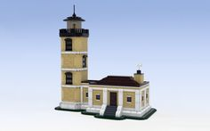 BrickBelt built the Split Rock Point Lighthouse, located along the shores of Lake Superior in Minnesota. Having never traveled to the lighthouse, BrickBelt did a wonderful job of recreating the bui…