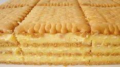 Petit keks torta ~ Recepti i Ideje Romanian Desserts, Romanian Food, Croatian Recipes, Hungarian Recipes, Posne Torte, Croatian Cuisine, Cake Recipes, Dessert Recipes, Macedonian Food