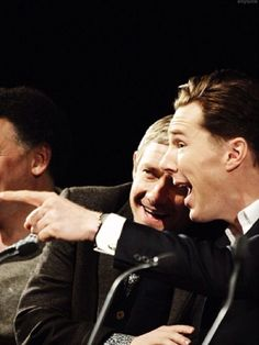 Benedict Cumberbatch & Martin Freeman <3 #Sherlock
