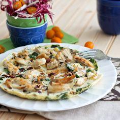 Chicken Apple Egg White Omelet
