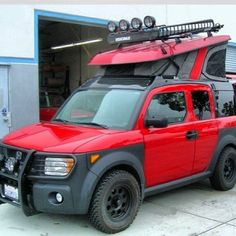 Image result for Honda Element Lifted