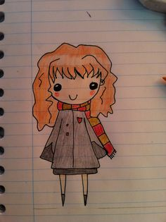 Quick doodle from hermione