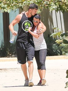 Lea Michele & Matthew Paetz