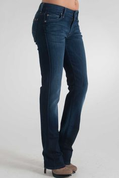 7 For All Mankind Kaylie 5 Pocket Jean with Crystal in Dazzling ...