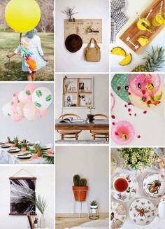 Poppytalk: Proyectos de fin de semana | 20 DIYs Gorgeous para Probar
