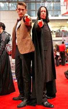 11th Doctor & Severus Snape