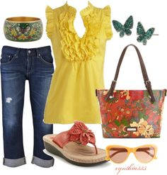 """Pretty Colors"" by cynthia335 on Polyvore"