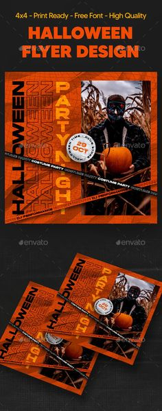 Halloween by storegraphic | GraphicRiver Halloween Flyer