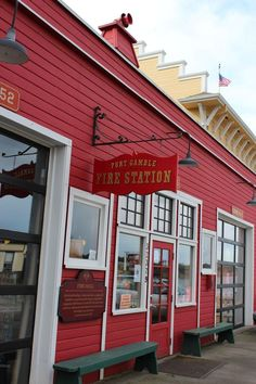 We drove our dear out-of-town family through the corporate town of Port Gamble, Washington. -Sarah Hoopes