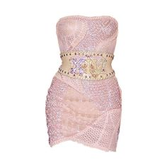 Satinee's collection - Haute couture 2012 ❤ liked on Polyvore featuring dresses, vestidos, short dresses, satinee, mini dress, pink dress, pink mini dress and short pink dress