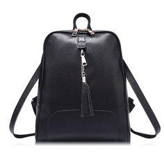 8f77cd114 R$ 121.49 |Famosa marca PU sacos de escola mochilas mulheres mochila estilo  simples moda de alta qualidade mochila de viagem em Mochilas de Bagagem e  bolsas ...